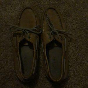 sperry's men's shoes, great condition few creases